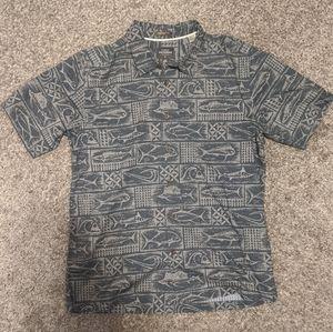 Quicksilver Waterman Collection Button Down Shirt